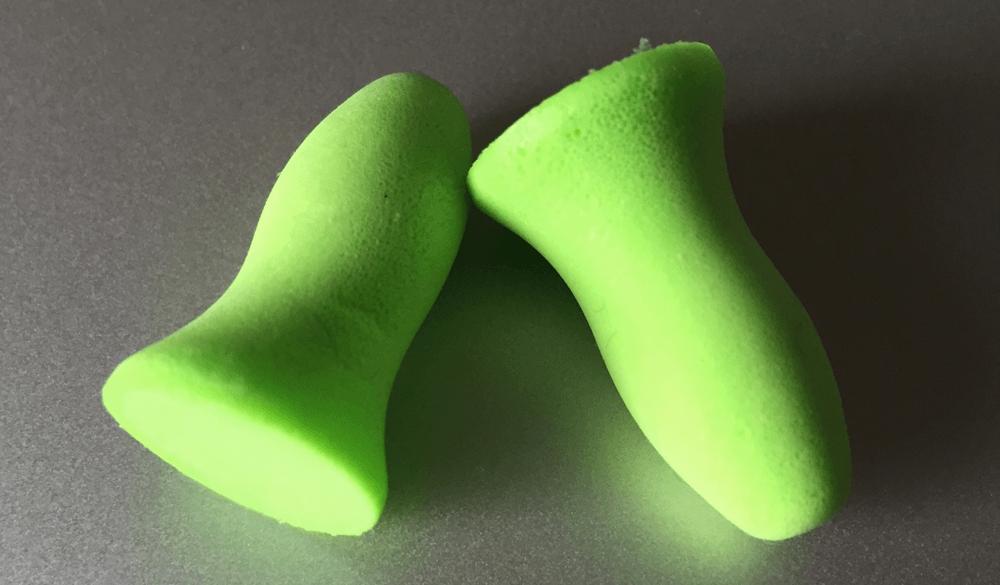 遮音性の高い耳栓MOLDEXメテオ