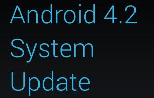 Nexus7のOSアップデート(4.2.1)が来ました!